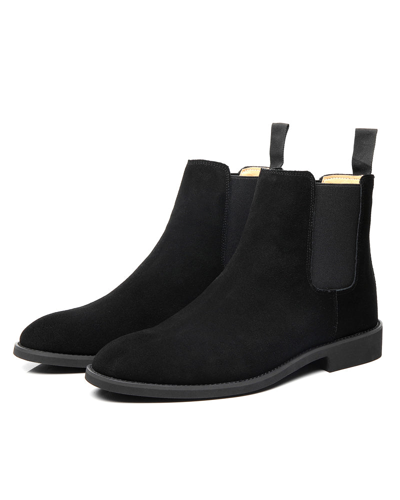 mens-Leather Chelsea Boots - Liam - Alexandre León | black