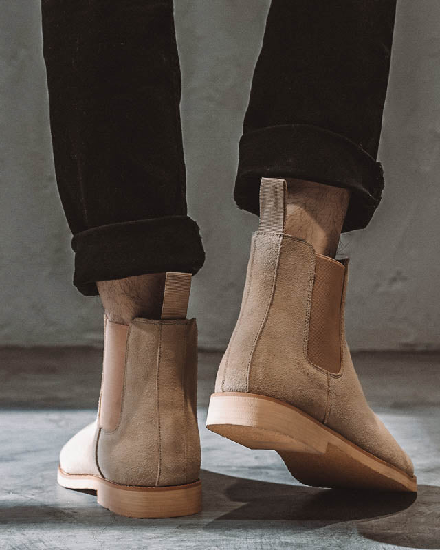 Leather Chelsea Boots - Liam [Tan]
