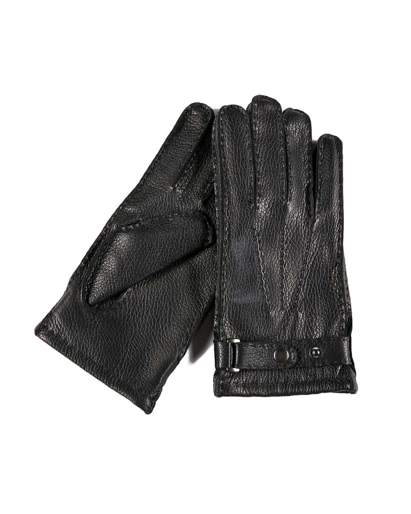 Leather Gloves - Oliver [Black] - Alexandre León