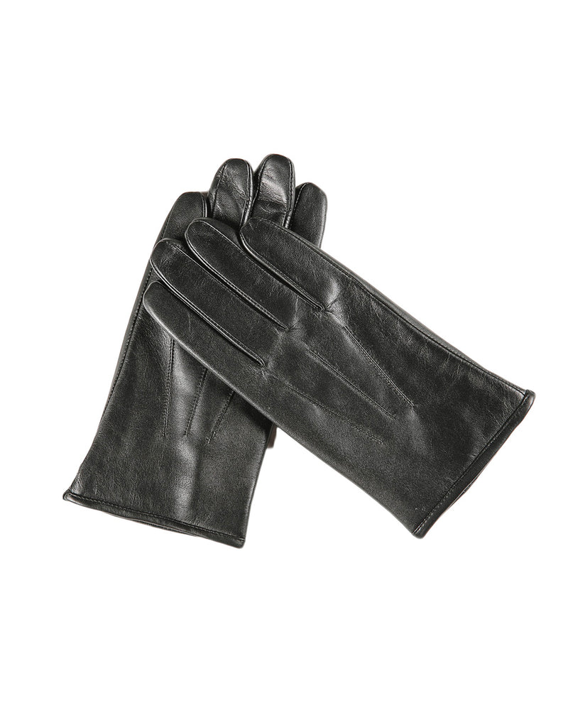 Leather Gloves - Samuel - Alexandre León | black