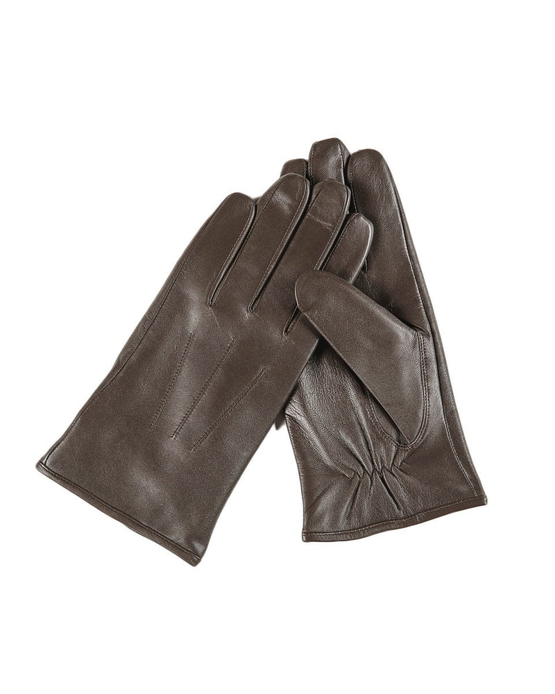 Leather Gloves - Samuel - Alexandre León | coffee-brown