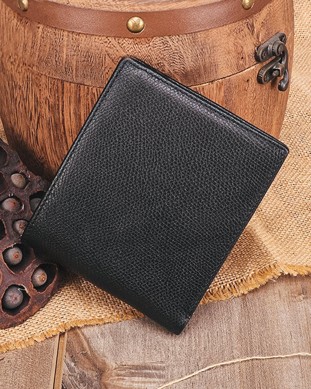 Leather Wallet - Auguste [Black]