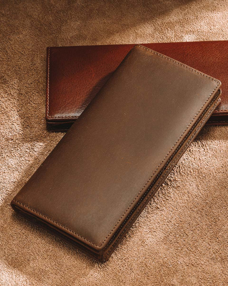 Leather Wallet - Jaxson [Brown]