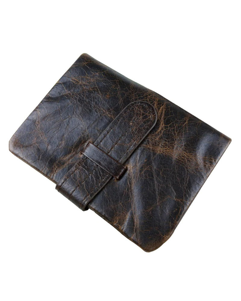 Leather Wallet - Jon [Coffee Brown]