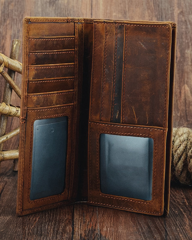 Leather Wallet - Lucien [Coffee Brown]