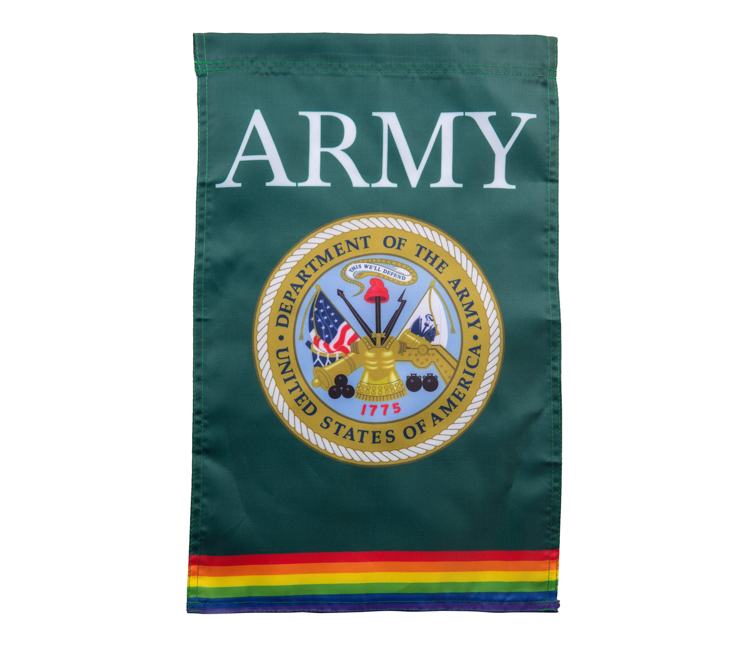 Rainbow ARMY Military Flag
