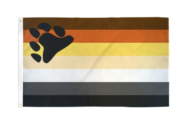 Bear Flag 3 x 5 ft