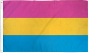 Pansexual Pride Flag 3 x 5 ft