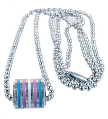 Transgender Stainless Steel Pendant with 20 inch Ball Chain Necklace