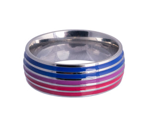 Bisexual Comfort Fit band Ring