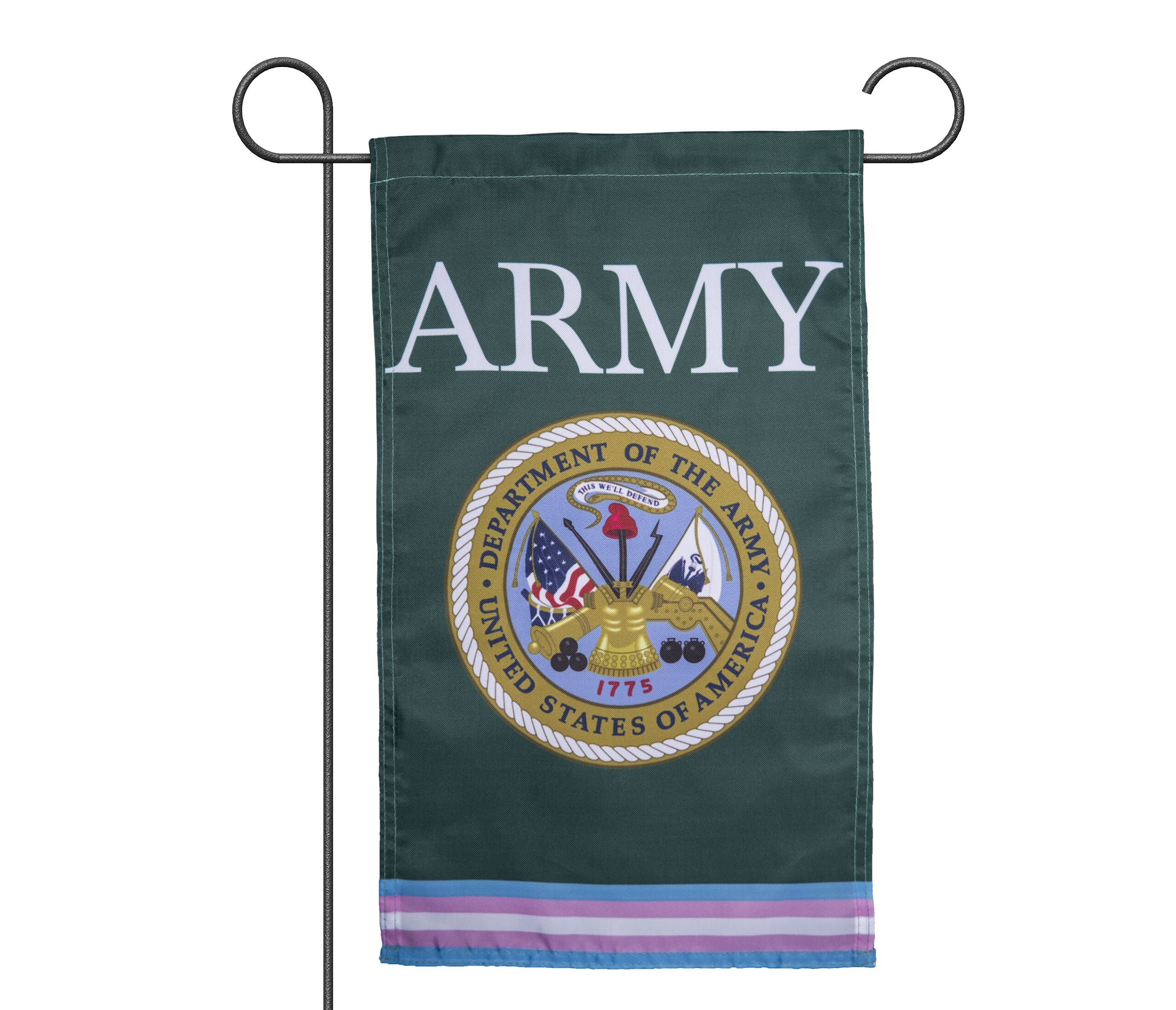 Transgender ARMY Military Flags