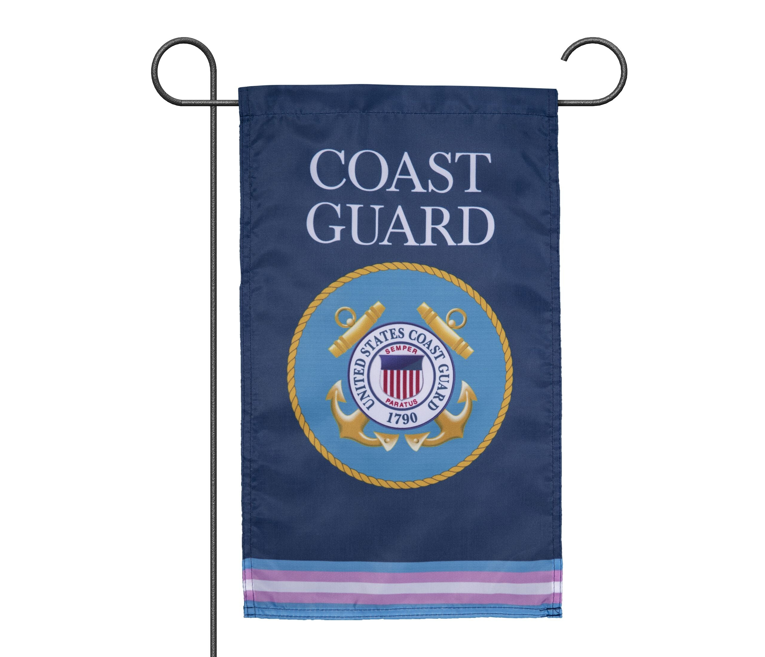 Transgender COAST GUARD Military Flags