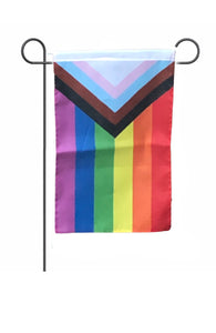 LGBTQ Progress Pride All Inclusive Garden Flag