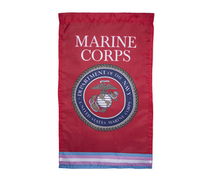 Transgender Marine Corps Military Flag