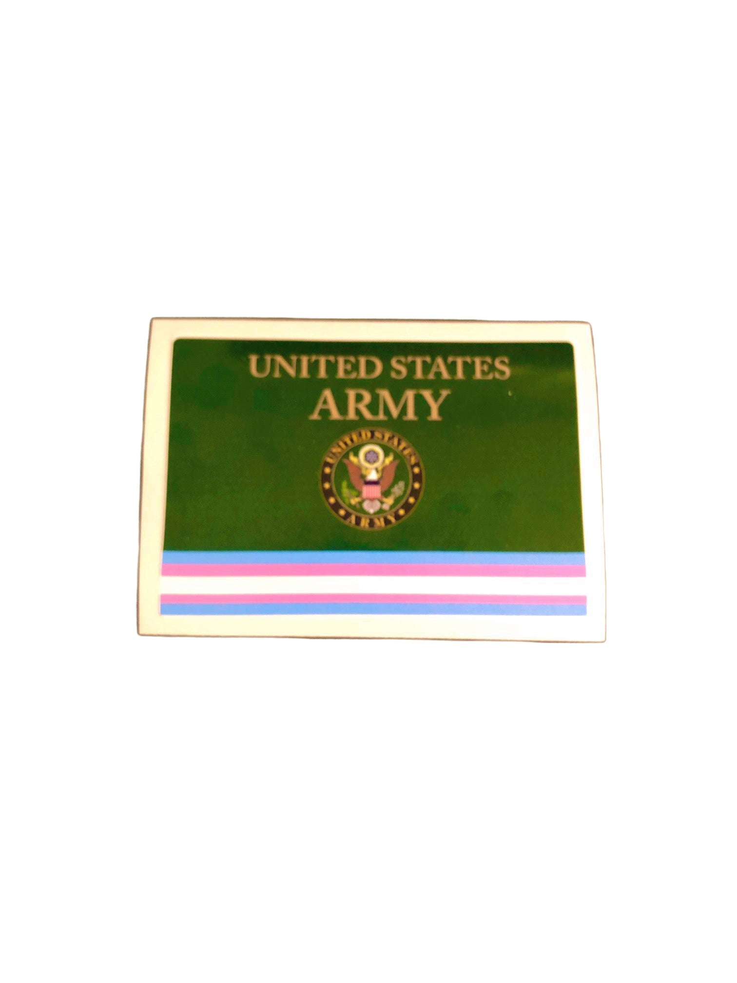 ARMY Transgender Military Bumper Sticker