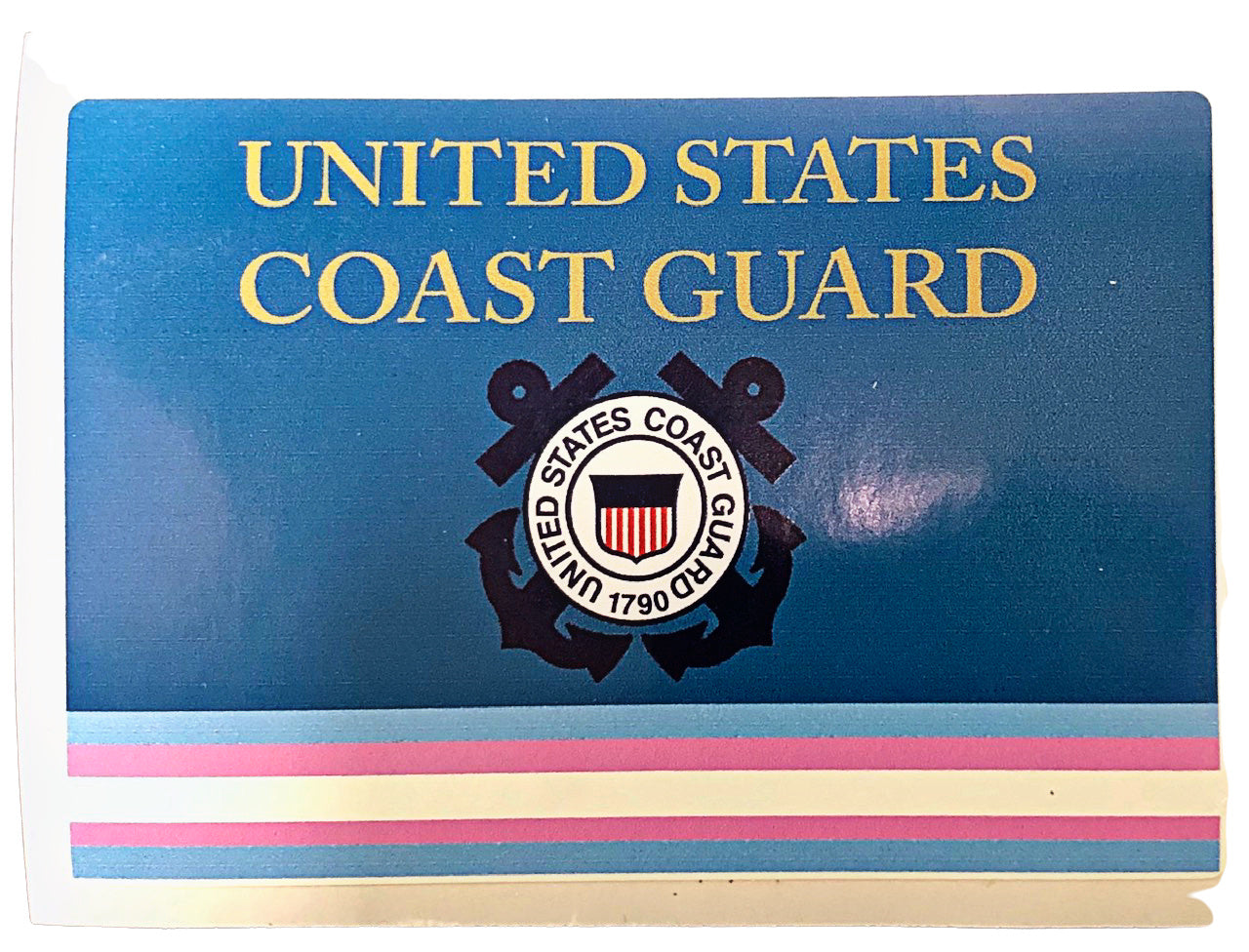 Coast Guard Transgender Military Bumper Sticker