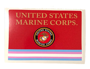 Marine Corps Transgender Military Bumper Sticker