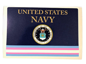 NAVY Transgender Military Bumper Sticker