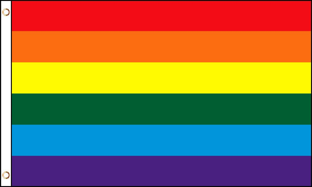 Rainbow Gay Pride Flag 3 x 5 ft