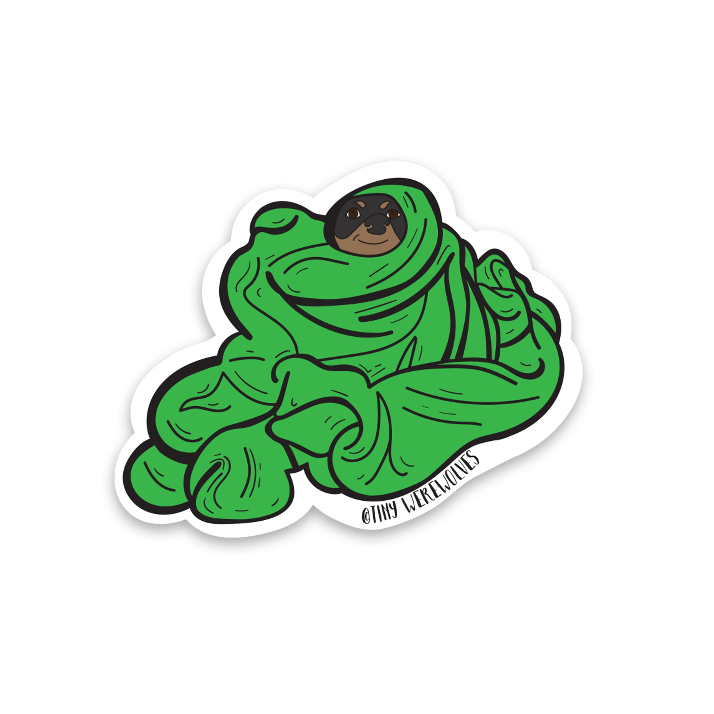 Blanket Meatball Sticker