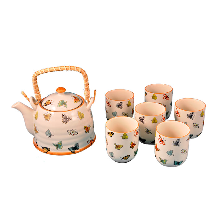 Butterfly Tea Set (6 cups) - Original Source