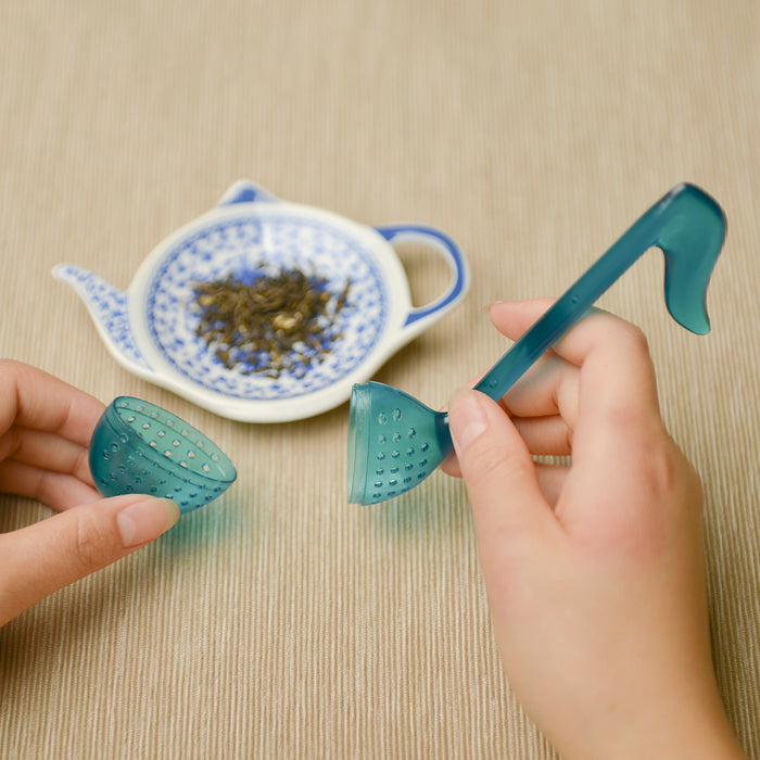Tea Infuser - Silicon - Blue Note