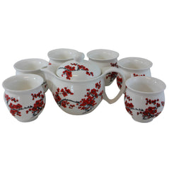 Tea Set - Cherry Blossom - 6 Cups - Original Source