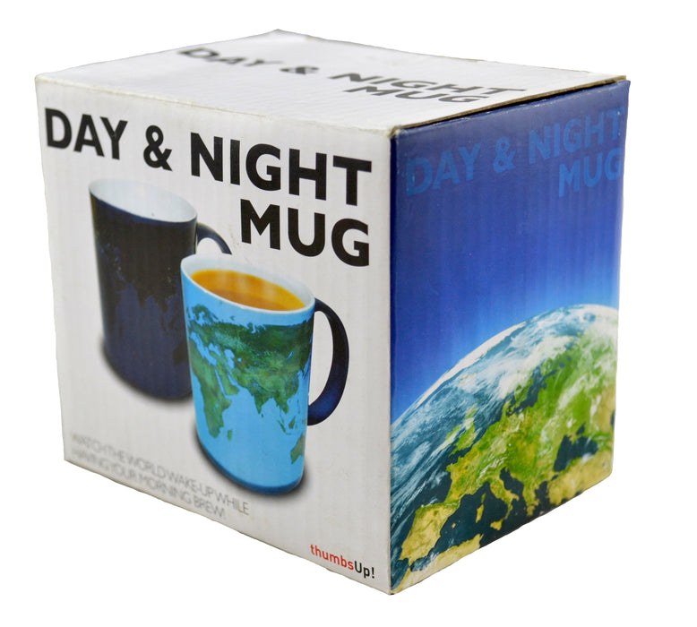 Ceramic Color Changing Magic Mug -  World Map - Original Source