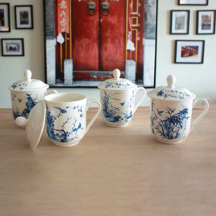 Four Season Bone China Mug Set - Original Source