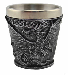 Stainless Steel Dragon Shot Glasses - Original Source