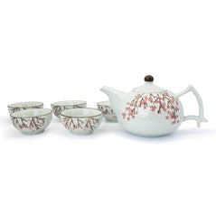 Cherry Blossom Teapot Set - Original Source