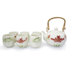 Lotus Teapot & 6 Cups - Original Source