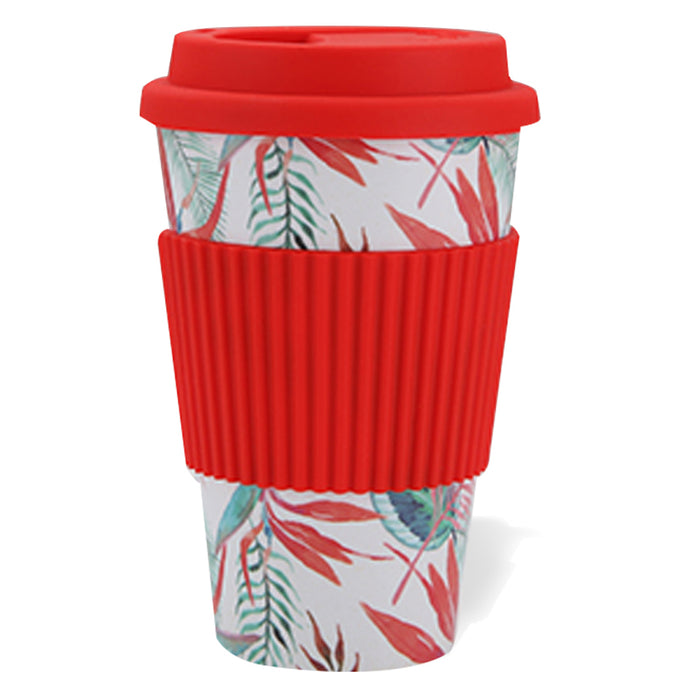 Bamboo Fiber Travel Cup (Red)