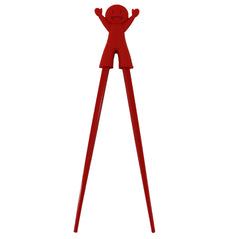 Silicon Chopsticks - Boy - Red - Original Source