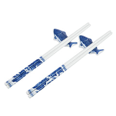 Porcelain Chopsticks - Fish - Set of 2 - Original Source
