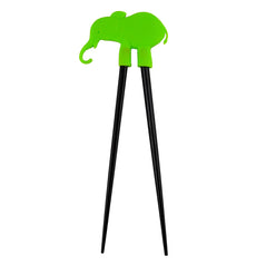 Green Elephant - Beginners Children's Chopsticks - Original Source