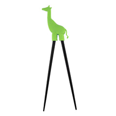 Silicon Chopsticks - Giraffe - Green - Original Source