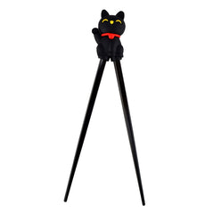 Silicon Chopsticks - Black Lucky Cat - Original Source