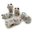 Ceramic Chopsticks Holders - Lucky Cats - Set of 5