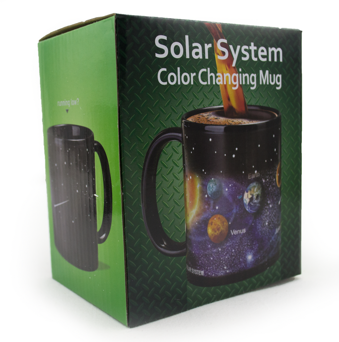 Ceramic Color Changing Magic Mug - Solar System - Original Source
