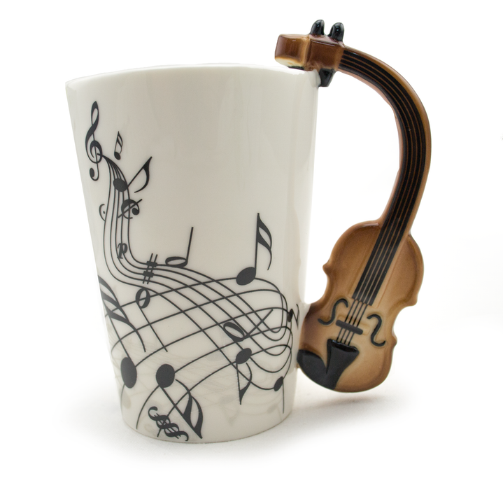 Ceramic Violin Handle Mug - Original Source