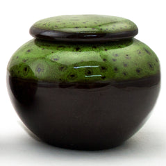 Tea Canister - Ceramic - Green