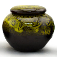 Tea Canister - Ceramic - Yellow