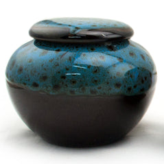 Tea Canister - Ceramic - Blue - Original Source