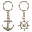 Key Chain Pairs - Nautical