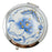 Porcelain Compact Mirrors - Blue - Original Source