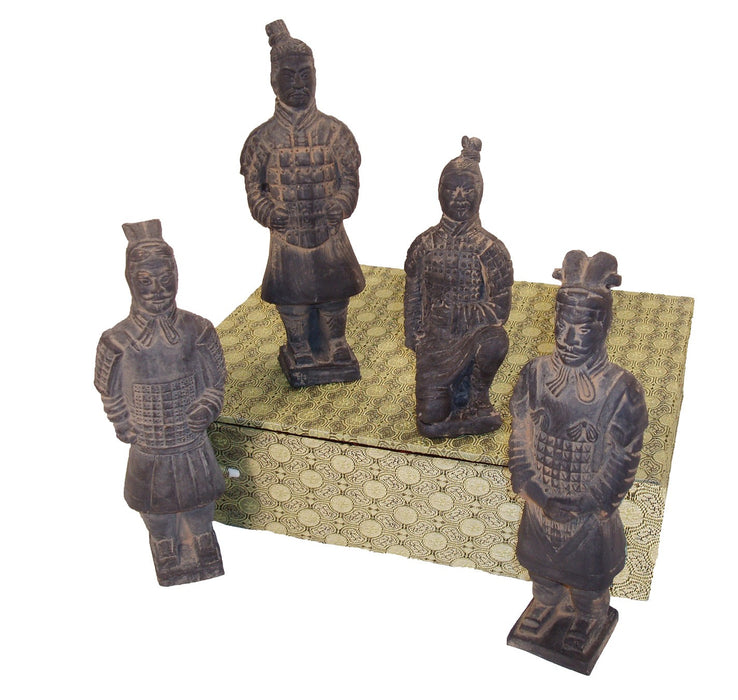 15CM - Terra Cotta Box 4 Warriors - Original Source