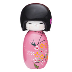 Wood Japanese Doll - Pink
