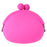 Silicon Coin Purse - Pink