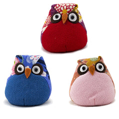 Patchwork Owls - Assorted Colors